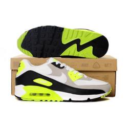 Nike AIR MAX 90 с салатовым